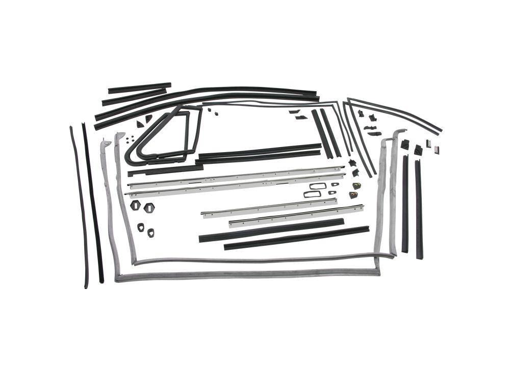 VW Käfer Cabrio Schrauben SATZ für Verdeck oder Schachtdichtungen 020-493005
