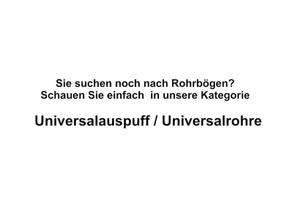 Universal Auspuff Bandschelle Edelstahl Innen-Ø = 57mm wiederverwendbar