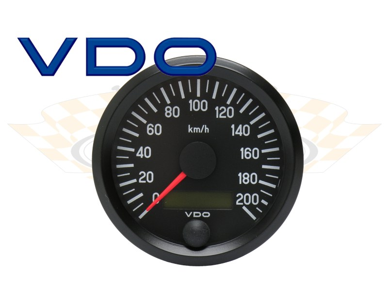 Tachometer elektronisch (Elektrik) : Custom & Speed Parts (CSP)