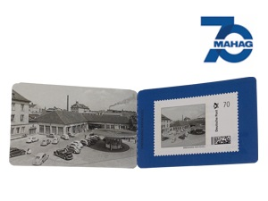 Briefmarke ''MAHAG''